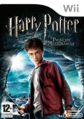 Immagine della copertina del gioco Harry Potter e il Principe Mezzosangue per Nintendo Wii