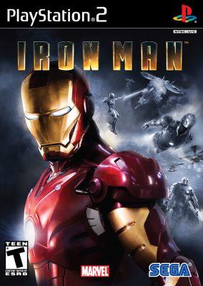 Copertina del gioco Iron man per PlayStation 2