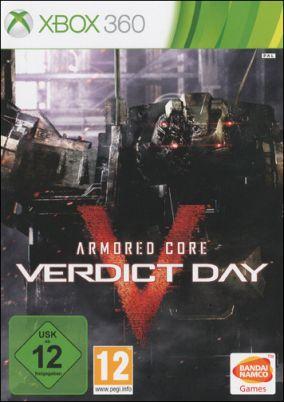 Copertina del gioco Armored Core: Verdict Day per Xbox 360