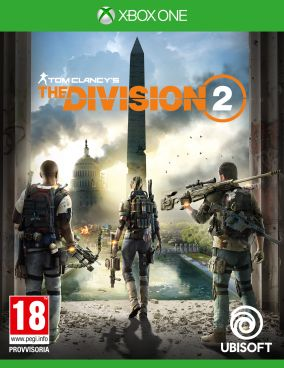 Copertina del gioco Tom Clancy's The Division 2 per Xbox One