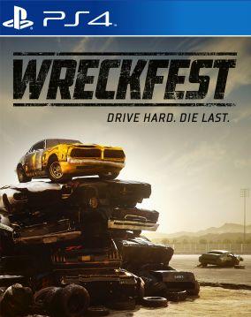 Copertina del gioco Wreckfest per PlayStation 4