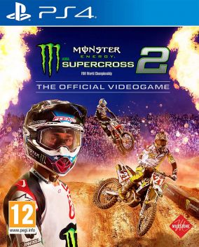 Copertina del gioco Monster Energy Supercross - The Official Videogame 2 per PlayStation 4