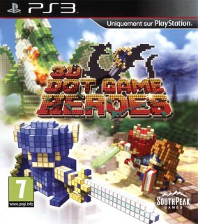 Immagine della copertina del gioco 3D Dot Game Heroes per PlayStation 3