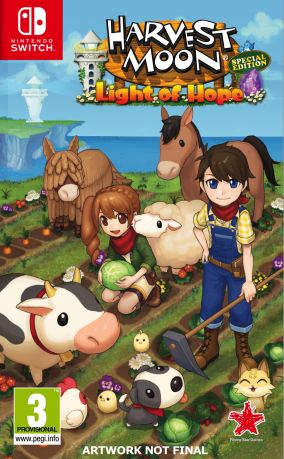 Copertina del gioco Harvest Moon: Light of Hope per Nintendo Switch