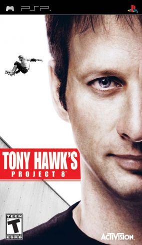 Immagine della copertina del gioco Tony Hawk's Project 8 per PlayStation PSP