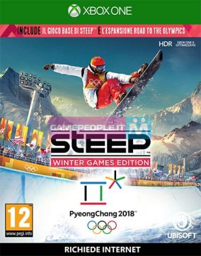 Copertina del gioco Steep: Winter Games Edition per Xbox One