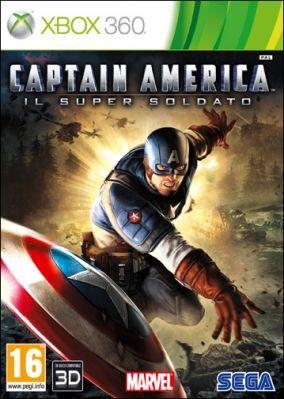 Copertina del gioco Captain America: Il Super Soldato per Xbox 360