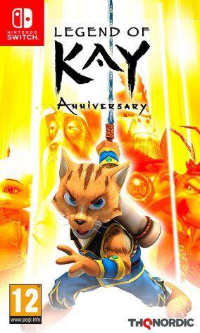 Copertina del gioco Legend Of Kay Anniversary per Nintendo Switch