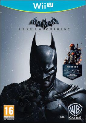 Immagine della copertina del gioco Batman: Arkham Origins per Nintendo Wii U