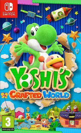 Copertina del gioco Yoshi's Crafted World per Nintendo Switch