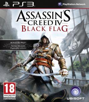 Immagine della copertina del gioco Assassin's Creed IV Black Flag per Playstation 3