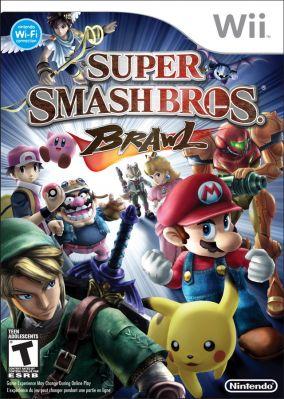 Immagine della copertina del gioco Super Smash Bros. Brawl per Nintendo Wii