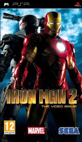 Immagine della copertina del gioco Iron Man 2 per PlayStation PSP