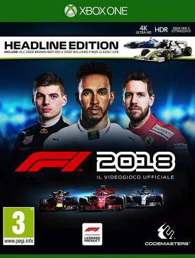 Copertina del gioco F1 2018 per Xbox One