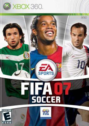 Copertina del gioco Fifa 07 per Xbox 360