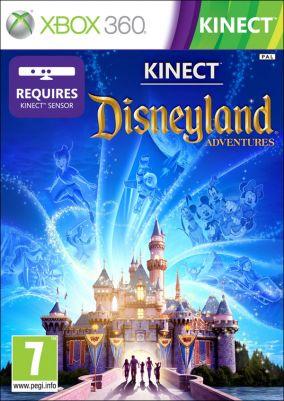 Copertina del gioco Kinect Disneyland Adventure per Xbox 360