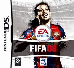 Immagine della copertina del gioco FIFA 08 per Nintendo DS
