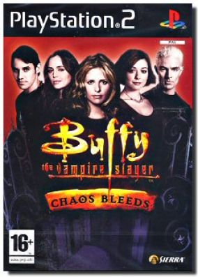 Copertina del gioco Buffy The Vampire Slayer: Chaos Bleeds per PlayStation 2