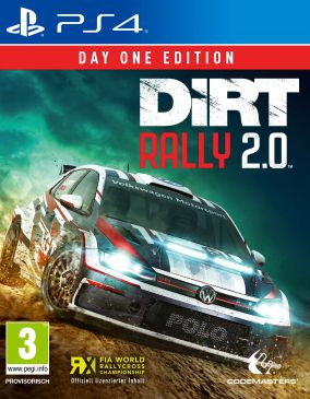 Copertina del gioco DiRT Rally 2.0 per PlayStation 4