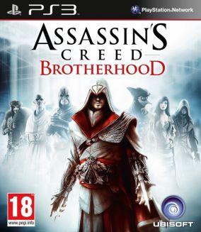 Copertina del gioco Assassin's Creed : Brotherhood per PlayStation 3
