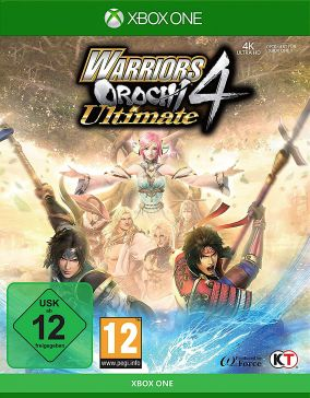 Copertina del gioco Warriors Orochi 4 Ultimate per Xbox One
