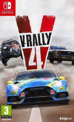 Immagine della copertina del gioco V-Rally 4 per Nintendo Switch