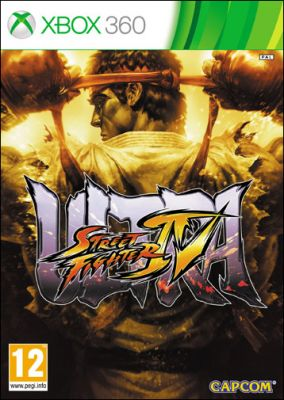Copertina del gioco Ultra Street Fighter IV per Xbox 360