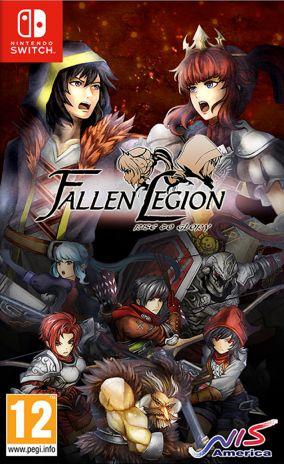 Copertina del gioco Fallen Legion: Rise to Glory per Nintendo Switch