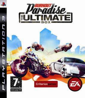 Copertina del gioco Burnout Paradise: The Ultimate Box per PlayStation 3