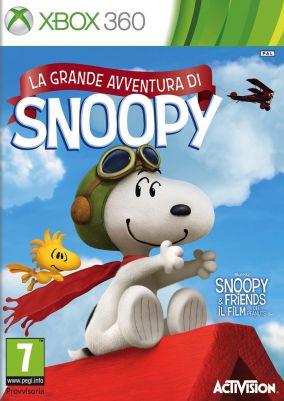 Copertina del gioco La Grande Avventura di Snoopy per Xbox 360