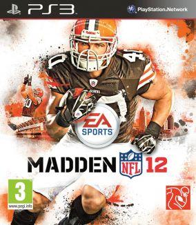 Copertina del gioco Madden NFL 12 per PlayStation 3