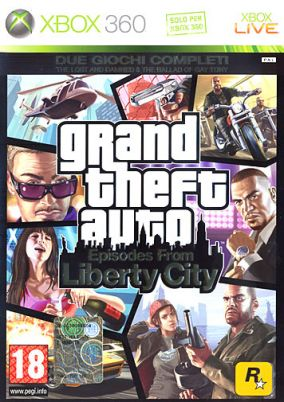 Copertina del gioco GTA: Episodes from Liberty City per Xbox 360