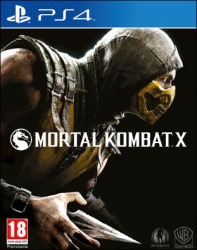 Immagine della copertina del gioco Mortal Kombat X per PlayStation 4