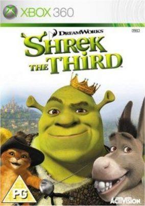Copertina del gioco Shrek Terzo per Xbox 360