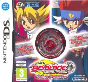 Copertina del gioco Beyblade: Metal Fusion per Nintendo DS