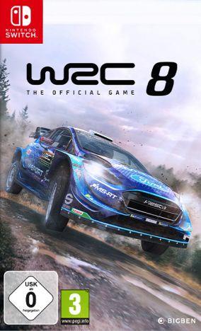 Copertina del gioco WRC 8 per Nintendo Switch