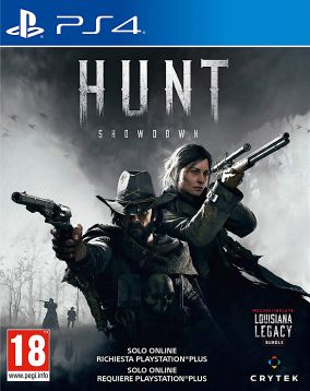 Copertina del gioco Hunt: Showdown per PlayStation 4