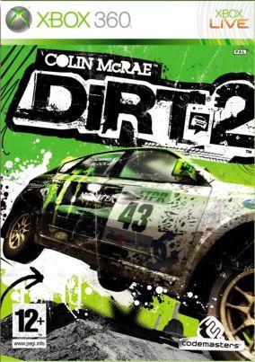 Copertina del gioco Colin McRae: DiRT 2 per Xbox 360