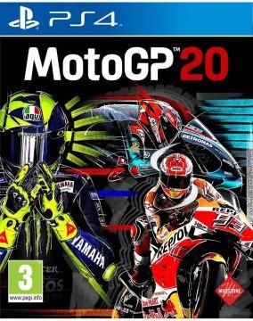 Copertina del gioco MotoGP 20 per PlayStation 4