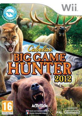 Copertina del gioco Cabela's Big Game Hunter 2012 per Nintendo Wii