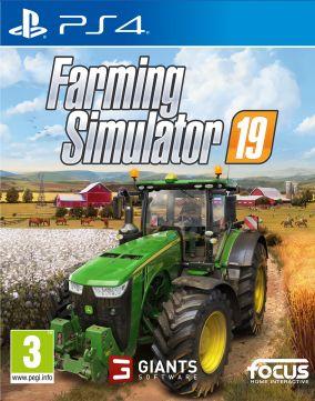Immagine della copertina del gioco Farming Simulator 19 per PlayStation 4