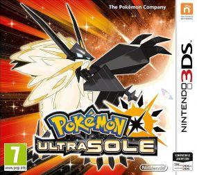 Copertina del gioco Pokemon Ultrasole per Nintendo 3DS