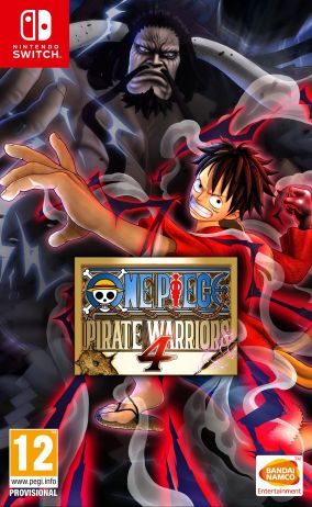 Copertina del gioco One Piece: Pirate Warriors 4 per Nintendo Switch