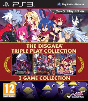 Copertina del gioco The Disgaea Triple Play Collection per PlayStation 3