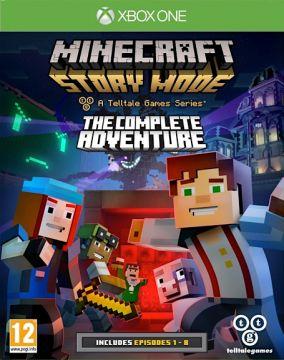 Copertina del gioco Minecraft: Story Mode per Xbox One