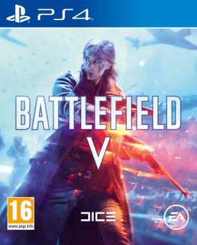 Copertina del gioco Battlefield V per PlayStation 4