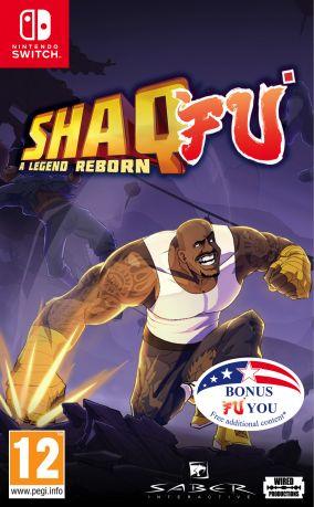 Immagine della copertina del gioco Shaq Fu: A Legend Reborn per Nintendo Switch
