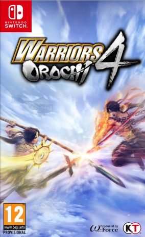 Copertina del gioco Warriors Orochi 4 per Nintendo Switch