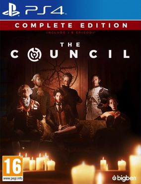 Copertina del gioco The Council - Complete Edition per PlayStation 4