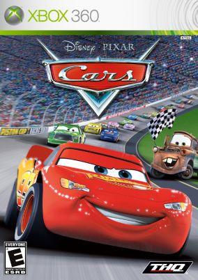 Copertina del gioco Cars per Xbox 360
